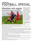 Trialling a possible regular Saturday night online publication for sport fans wi...