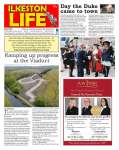The latest edition of Ilkeston Life is out Friday 7th May....