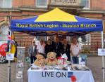 Come and see us on the market today