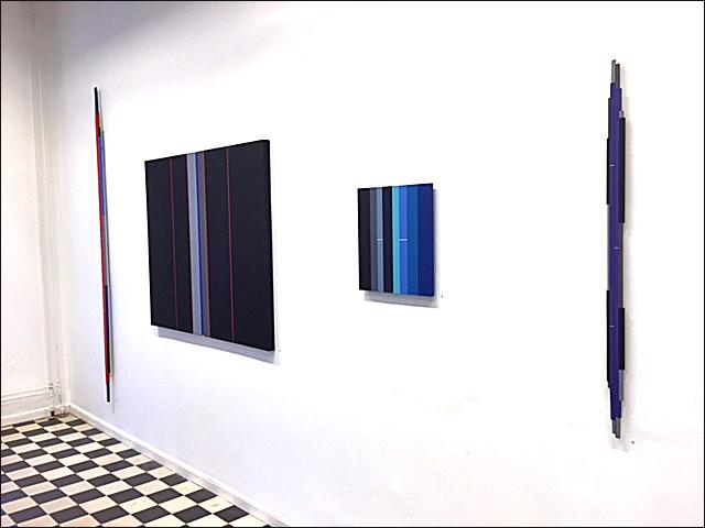 Bild från pågående utställning på galleri Lars Hjelm i Karlstad 14 - 29 oktober 2016