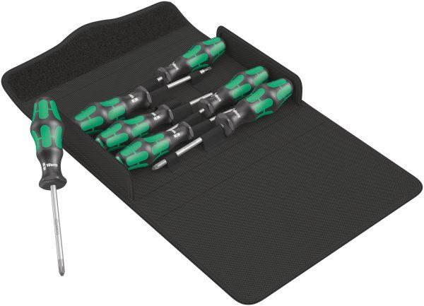 Der Wera Kraftform 300/7 Set 1 Schraubendrehersatz Kraftform Plus ist ein 7-teiliges Schraubendreher-Set mit Kraftform Plus Griff. Die...