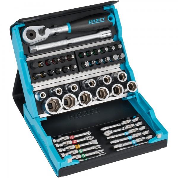 """Entwickelt und produziert """"Made in Germany"""". Der HAZET 2200SC-2 SmartCase Steckschlüssel Satz hat ein Innovatives Konzept eines kompakten..."""
