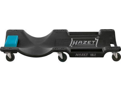 Die HAZET 195-3 Roll-Liege eignet sich bestens für die Drehstange 1114 von Hazet.