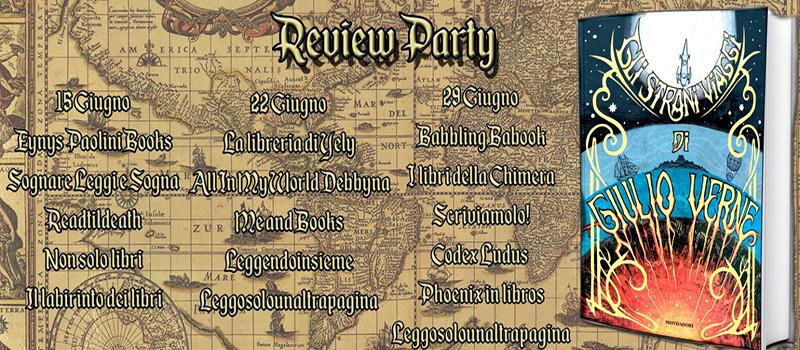 """Review Party """" Gli strani viaggi di Giulio Verne"""""""