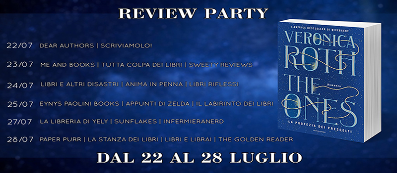 "Review Party ""The Ones"" di Veronica Roth"
