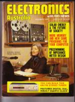 At work broadcasting at 2MBS FM station in Sydney, ca.1977
