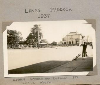 Lang's Paddock, cnr Burrelli and Kembla Sts