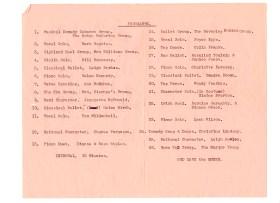 Nov 1966 Eisteddfod concert programme (inside)