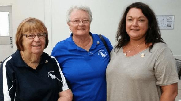 2018 Sea Lions AGM Life Membership Recipients - Denise Dorrington, Denise Adams, Nadine Carpenter