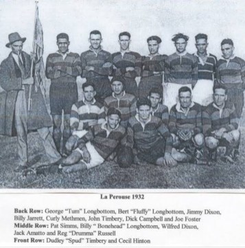 La Perouse Rugby League Club, 1932.