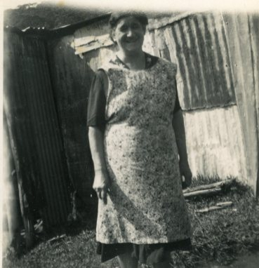 Beryl's Grandmother - Ma (Mary) Hargrave.