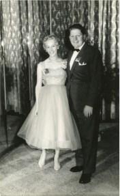 John and Barbara at the Nock and Kirby Ball - 1960/1961