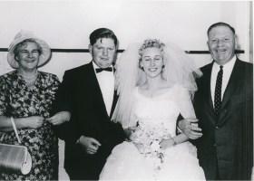 John and Barbara Street with John's parents, James and Gladys
