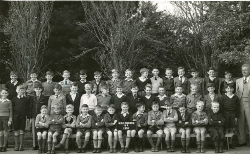 Wollongong Public School - 1951 - John Street (ten years old, centre of middle row with face turned away from camera).