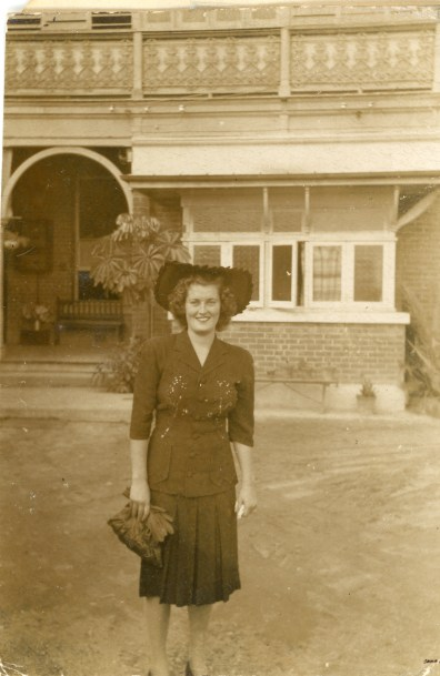 Carol North discharged from service - Queensland, 1949
