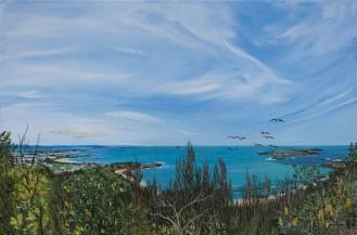 """Fisherman's Beach, Five Islands"", by Pamela Griffith"