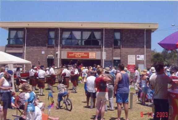 P26714 - Coledale centenary celebrations at Coledale Surf Life Saving Club (9 November 2003)