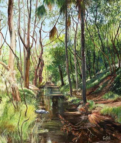 """""""Stanwell Creek"""", by Pamela Griffith"""