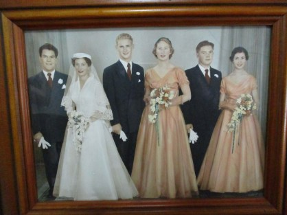 Vic and Ruth's wedding