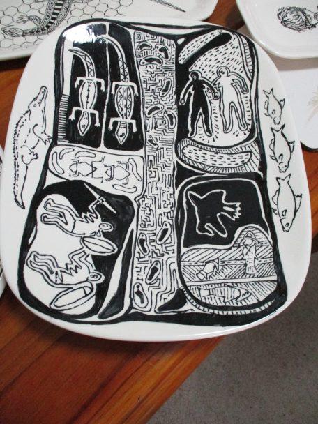 One of Vic's ceramics