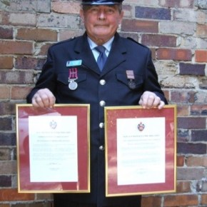 2008 - Receiving my 2 Commissioners Commendation Awards