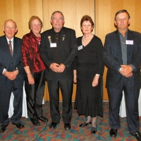 2011 - Being elected President of Camellias Australia