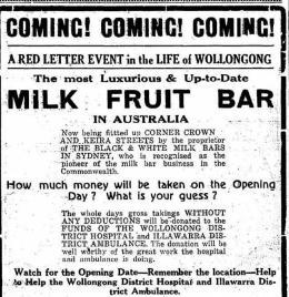Advertisement - Illawarra Mercury, 1 Oct 1937, p. 4