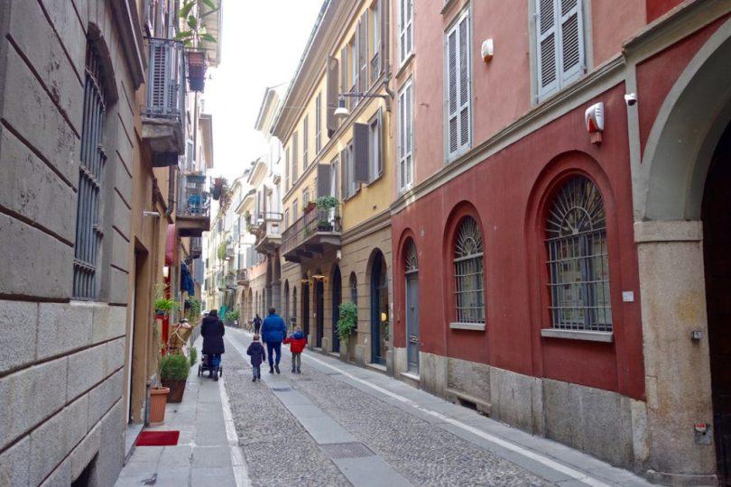 quartiere Brera a Milano
