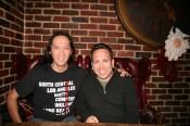 Tom Nguyen of EnClave L.A. & Richard Estrada @ Brass Monkey Cafe