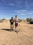 myself and Miguel Alejandro of Radio El Nopal