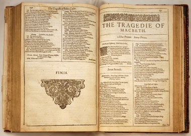 University of London Considering a Deaccession of Shakespeare Folios