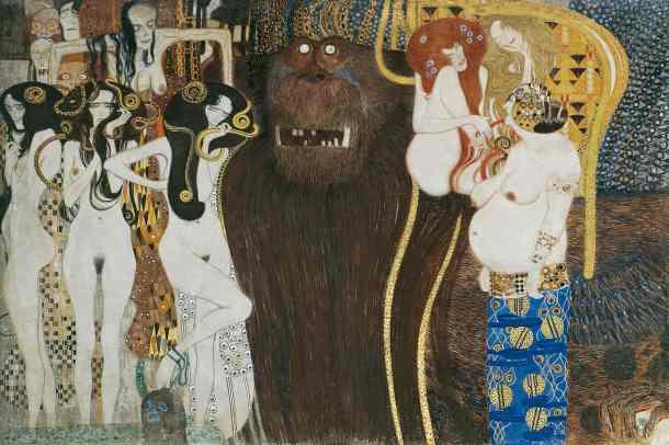 "The ""Beethoven Frieze"" (1902), by Gustav Klimt"