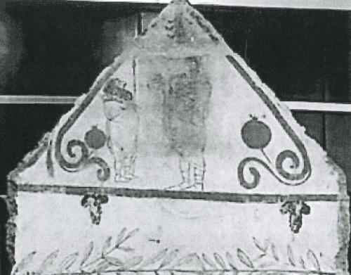 The Mirror image fresco from Paestum