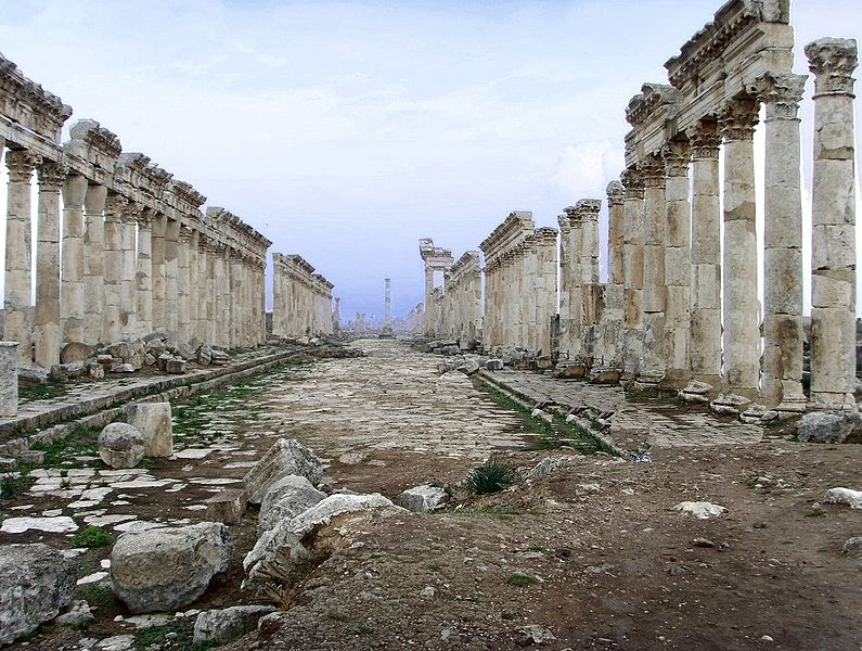 The Roman Colonnade at Apamea