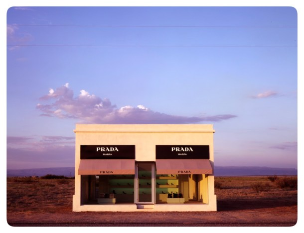 "Is this a museum?  ""Prada Marfa"" by Michael Elmgreen and Ingar Dragset"
