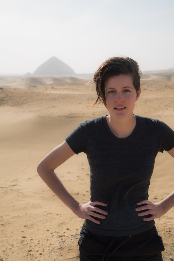 Presenter Gianna Toboni, Image Courtesy of HBO
