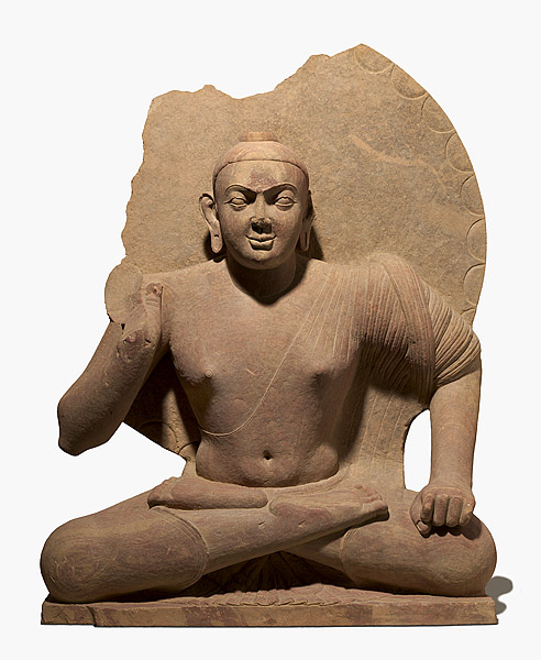 "This Kushan Buddha statue, bought by the National Gallery in Australia is one of the ""questionable"" objects flagged in the museum's internal review"