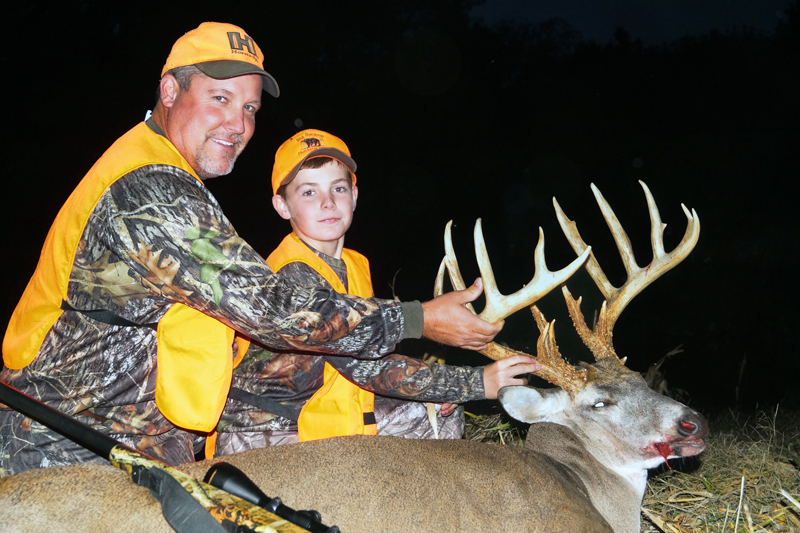 best deer hunting location in Illinois