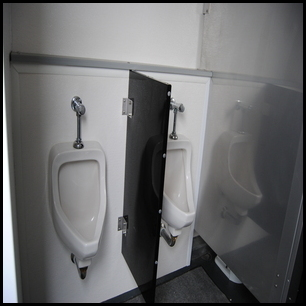 Urinals and Stalls!