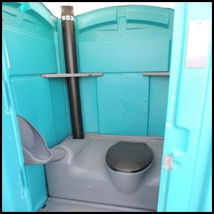 Urinal Just Inside Door!