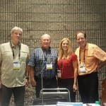 Dwayne Sperber, Rick Siewert, Jennifer Alger & Rich Christianson presnted the first-ever urban wood seminar at the International Woodworking Fair in Atlanta.
