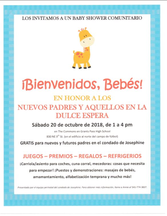 Baby Shower Comunitario Los Invitamos Illinois Valley Web