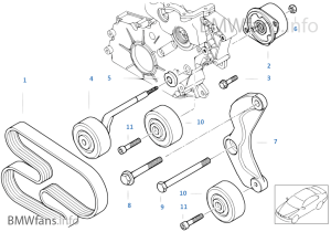 Bmw E39 Waterpump Diagram Bmw Auto Parts Catalog And Diagram