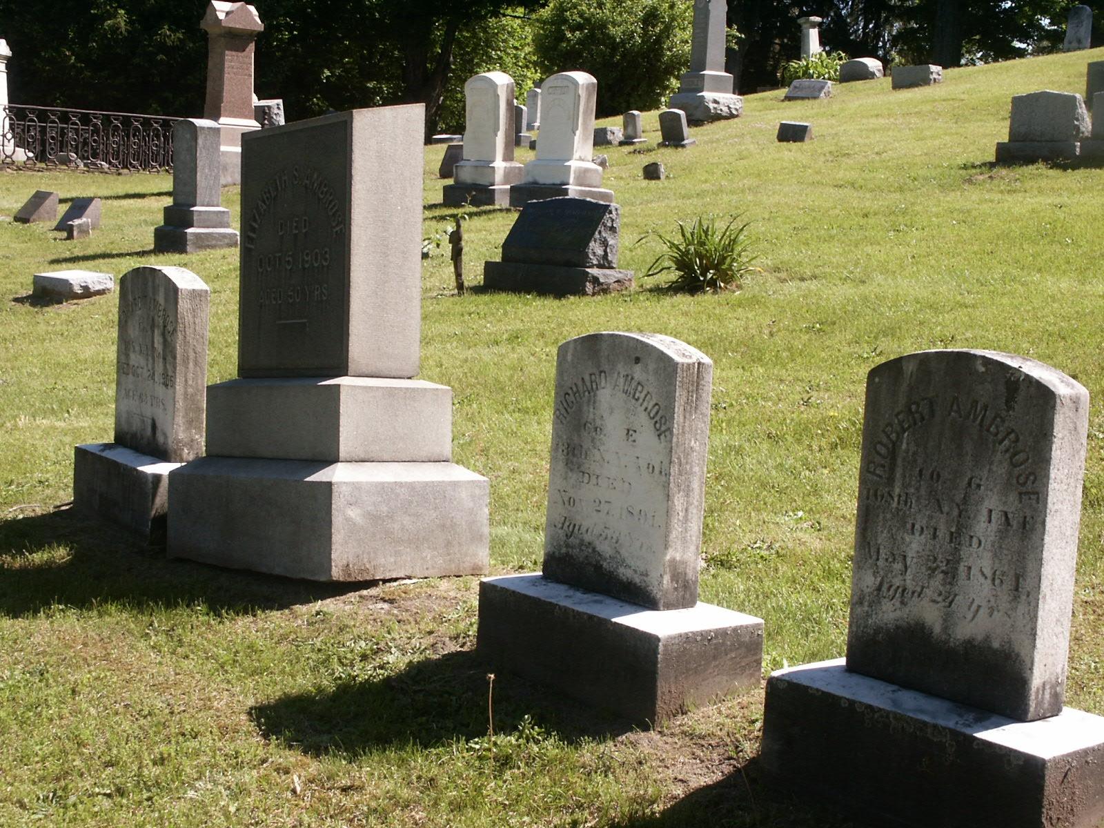 Edward, sister Elizabeth, Richard and Robert Ambrose