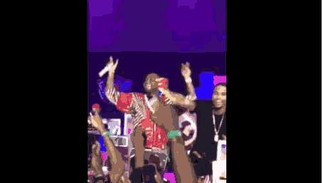 "VIDEO | Davido and Trey Songz Perform ""Aye"" at Rhythm Unplugged 2015"