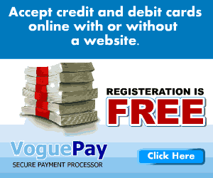 VoguePay Lets You Receive Payments Online For Your Small Businesses