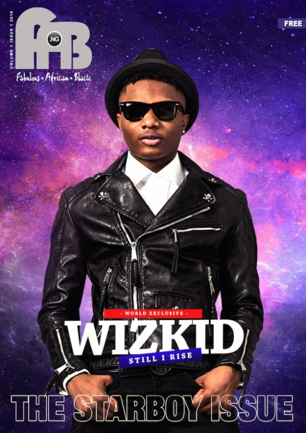 Wizkid Is A Total Boss On The Cover Of Fab Magazine's Digital Issue