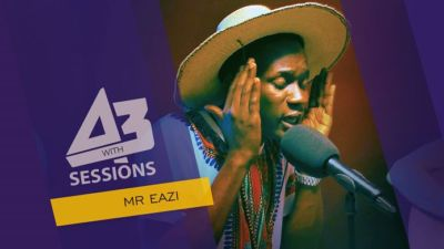 VIDEO | Watch Mr. Eazi Freestyle On A3 Sessions