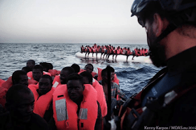Another tragedy evaded as 273 African migrants are rescued today in the Mediterranean