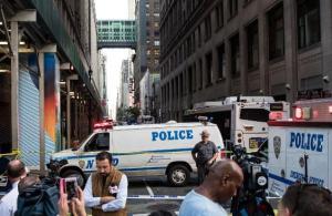 Suspect Shot In New York City Machete Attack
